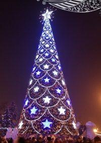 Открытие городской ёлки Иркутска в Иркутске