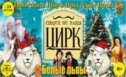 Новогоднее шоу «Cirque du Paris. Белые львы» в Иркутске