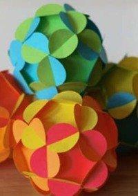 Выставка игрушек из бумаги