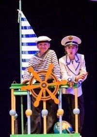 Музыкальная сказка «Приключение капитана Врунгеля» в Братске