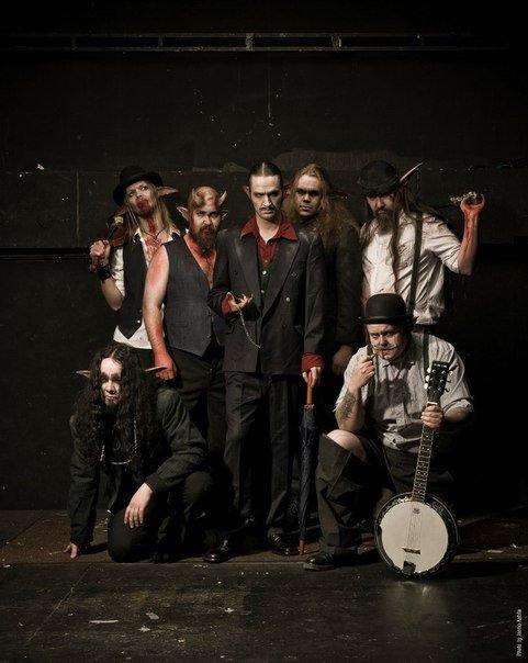 Концерт группы «Finntroll»