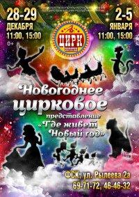 Цирковое шоу «Где живёт Новый год» в Улан-Удэ