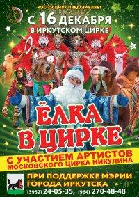 Новогоднее представление «Ёлка в цирке» в Иркутске