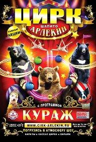 Шоу цирка-шапито «Арлекин»