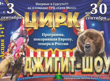 Цирковое шоу «Джигит-шоу»