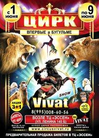 Шоу цирка-шапито «VIVAT»