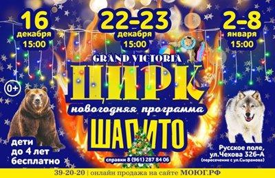 Шоу цирка-шапито «Grand Viktoria»