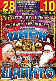 Шоу цирка-шапито «Сочинский»