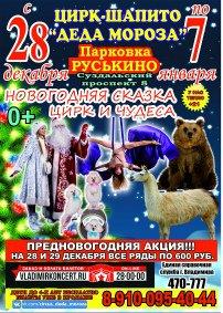 Шоу цирка-шапито «Цирк Деда Мороза»