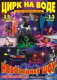 Цирковое шоу «Цирк на воде»
