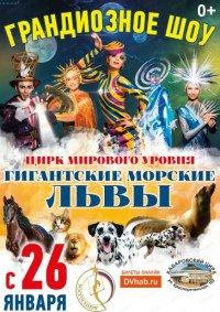 Цирковое шоу «Гигантские морские львы»