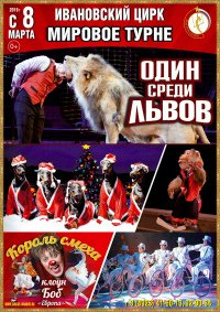 Цирковое шоу «Один среди львов»