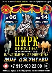 Цирковое шоу «Мир джунглей»