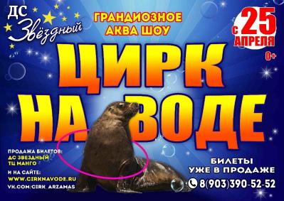 Шоу цирка на воде «Aqua Show»