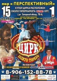 Шоу цирка-шапито «Торнадо»