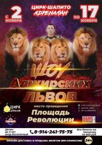 Шоу цирка-шапито «Адреналин»