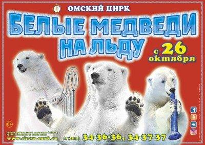 Цирковое шоу «Белые медведи на льду»