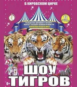 Цирковое шоу «Шоу тигров»