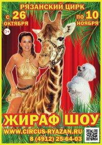 Цирковое шоу «Жираф шоу»