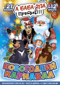Цирковое шоу «Новогодний карнавал»