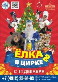 Цирковое шоу «Ёлка в цирке 2»