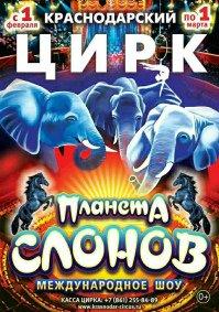 Цирковое шоу «Планета слонов»