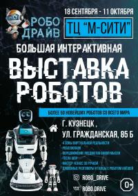 Выставка роботов «РобоДрайв» Кузнецк