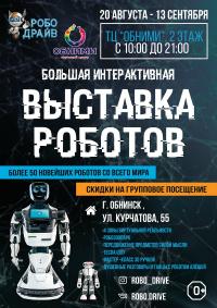 Выставка роботов «РобоДрайв» Обнинск