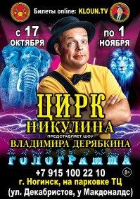 Цирковое шоу «Голограмма» Ногинск