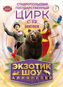 Цирковое шоу «Аливрувер» афиша мероприятия