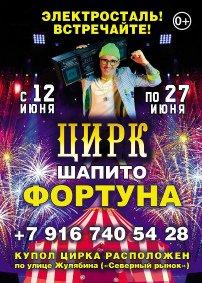 Шоу цирка-шапито «Фортуна» афиша мероприятия