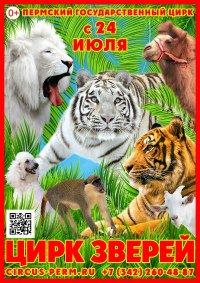 Цирковое шоу «Цирк удивительных зверей» афиша мероприятия