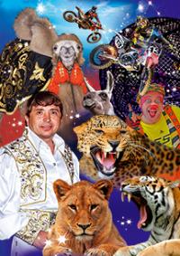 Шоу цирка-шапито «Корона» (Котельники) афиша мероприятия